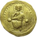 obverse:  Romano III Argirus (1028-1034). AU histamenon nomisma, Costantinopoli.