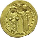 reverse:  Romano III Argirus (1028-1034). AU histamenon nomisma, Costantinopoli.
