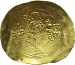 reverse:  Alessio I (1081-1118). AU hyperpyron, Costantinopoli.