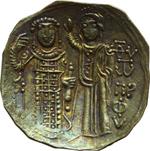 reverse:  Giovanni III di Nicea (1222-1254). AU hyperyron, Magnesia.