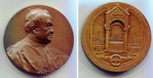 D/ Vaticano 1904. Medaglia Cardinalizia (Johnson). Cu (55 mm. - 90,40 gr.). Giubileo 1904. Splendida e rara!