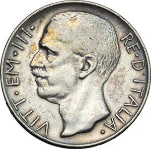 obverse: Regno di Italia. Vittorio Emanuele III (1900-1943). 10 lire 1926.    Pag. 691. Mont. 87. AG.    R.  BB.