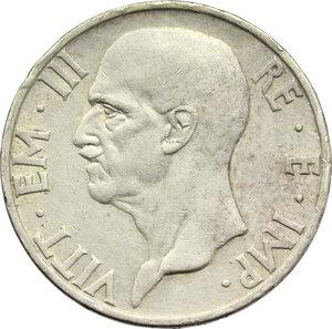 obverse: Regno di Italia. Vittorio Emanuele III (1900-1943). 5 lire 1936.    Pag. 719. Mont. 133. AG.     Bel BB.