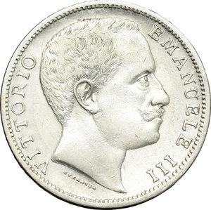 obverse: Regno di Italia. Vittorio Emanuele III (1900-1943). 2 lire 1902.    Pag. 726. Mont. 141. AG.    R.  BB.