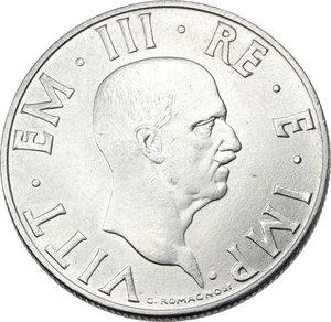 obverse: Regno di Italia. Vittorio Emanuele III (1900-1943). 2 lire 1942.    Pag. 761. Mont. 186. AC.   mm. 28.00  RR.  SPL/qSPL.