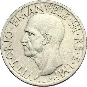 obverse: Regno di Italia. Vittorio Emanuele III (1900-1943). 1 lira 1936.    Pag. 789. Mont. 218. NI.    R. Bel BB.