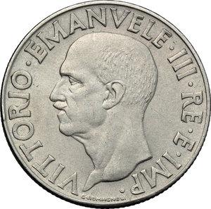 obverse: Regno di Italia. Vittorio Emanuele III (1900-1943). Lira 1943 A. XXI.    Pag. 797. Mont. 232. AC.    R.  BB.