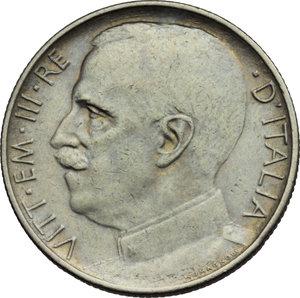 obverse: Regno di Italia. Vittorio Emanuele III (1900-1943). 50 centesimi 1925.    Pag. 807. Mont. 244. NI.    NC. Bel BB.