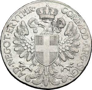 reverse: Colonia Eritrea. Vittorio Emanuele III (1900-1943). Tallero 1918.    Pag. 956. Ag.    R.  BB.