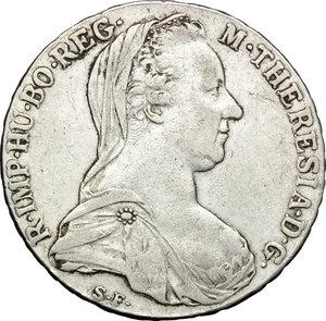 obverse: Casa Savoia. Vittorio Emanuele III (1900-1943). Tallero 1780 Roma.    Mont. 747. AG.   mm. 40.00    BB.