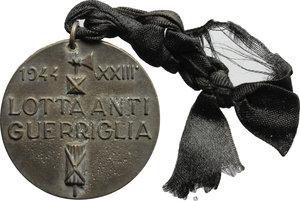 reverse:  Medaglia 1944 per la lotta anti guerriglia.     AE.   mm. 36.00    BB.