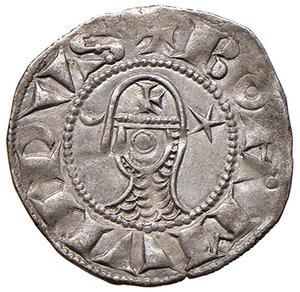 D/ Antiochia. Boemondo III (1163-1201). Denaro AG gr. 1,01. Schlumberger T. III, 4b. MPS 60. SPL