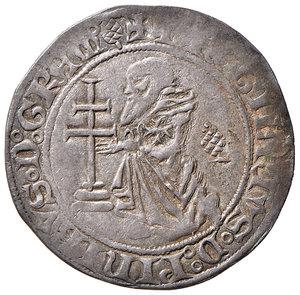 D/ Rodi. Roger de Pins (1355-1365). Gigliato AG gr. 3,68. Schlumberger T. IX, 21. MPS 17 var. Ex Numismatica Picena listino 2/2009, 755. Raro. Buon BB