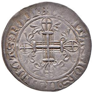 R/ Rodi. Roger de Pins (1355-1365). Gigliato AG gr. 3,68. Schlumberger T. IX, 21. MPS 17 var. Ex Numismatica Picena listino 2/2009, 755. Raro. Buon BB
