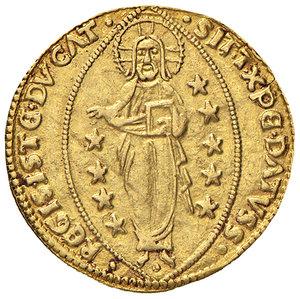 R/ Rodi. Pierre d'Aubusson (1476-1503). Zecchino AV gr. 3,46. Schlumberger T. XI, 1. MPS 42. Ex Numismatica Picena listino 3/2011, 771. Raro. SPL