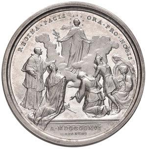 R/ Benedetto XV (1914-1922). Medaglia anno II/1916 AG diam. 44 mm. Opus Francesco Bianchi. Preghiera per la pace. Bartolotti E916. FDC