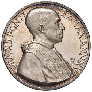 D/ Pio XII (1939-1958). Medaglia anno XV (1953) AG diam. 44 mm. Opus Aurelio Mistruzzi. Concistoro del 1953. Bartolotti E953. FDC
