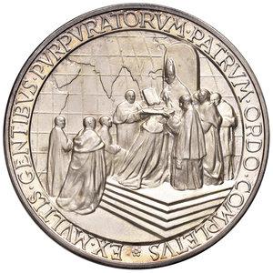 R/ Pio XII (1939-1958). Medaglia anno XV (1953) AG diam. 44 mm. Opus Aurelio Mistruzzi. Concistoro del 1953. Bartolotti E953. FDC