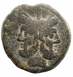 obverse: Repubblica Romana - ca 211-206 a.C. Asse. Ae. D/ Giano. R/ Prora. Cr. 56/2. Peso gr. 34,85. Diametro mm. 33,78. BB+. Patina verde.