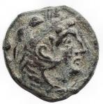 obverse: Repubblica Romana - Serie Stella. 169-158 a.C. Quadrante. Ae.D/ Ercole a destra. R/ Prora, sopra ROMA, davanti stella. Peso gr. 4,43. Diametro mm. 17,6. BB-SPL. Bella patina verde.