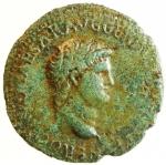 obverse: Impero Romano. Nerone. 54-68 d.C. Asse. AE. Lugdunum. 64-67 d.C. D\ IMP NERO CAESAR AVG P MAX TR P P P, Testa nuda a destra, globo alla base del collo. R\ GENIO - AVGVSTI, Genio stante verso sinistra, tiene cornucopia e patera; davanti a lui un altare; ai lati, S - C. RIC 533; C 103. Peso 9,44 gr. Diametro 26,00 mm. BB+.°°