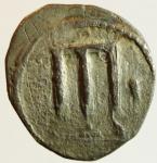 obverse: Mondo Greco. Bruttium. Crotone. 510-480 a.C. Nomos, Ag. D/ Tripode. R/ Tripode incuso. SNG 1752. Peso gr 7,70. Diametro mm. 22,00. BB+. R. ^