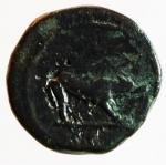 reverse: Impero Romano. Traiano. 98-117 d.C. Quadrante. Ae. D/ IMP CAES NERVA TRAIAN AVG Testa laureata verso destra. R/ Lupa verso destra SC. RIC.691.Peso 3,85 gr. Diametro 16,01 mm. BB.