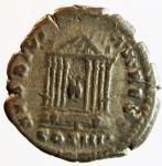 reverse: Impero Romano. Antonino Pio. 138-161 d.C. Denario. Ag. D/ ANTONINVS AVG PIVS P P Busto con testa laureata a destra. R/ TEMPLVM DIVI AVG REST, in esergo COS IIII. Tempio Octastilo con statue di Augusto e Livia. RIC 143. Peso gr. 3,08. Diametro mm. 17,50. qBB. R.°°