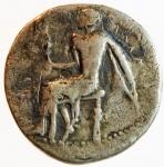 obverse: Mondo Greco. Calabria. Tarentum. ca 460-443 a.C. Nomos. Ag.