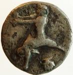 reverse: Mondo Greco. Calabria. Tarentum. ca 460-443 a.C. Nomos. Ag.