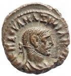 obverse: Provincia Romana - Egitto. Alessandria. Massimiano. 286-305 d.C. Tetradramma. Ae. R/ Vittoria a sinistra. Peso gr. 8,53. Diametro mm. 19,5 x 20,7. qSPL.
