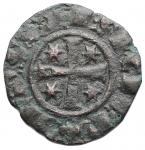 reverse: Zecche Italiane - Brindisi. Federico II. 1198-1250.Denaro del 1249. BI. D/ Grande F, tre stelle. R/ Croce, 4 stelle. Spahr 150. Diametro mm. 15,2 x 15,8. Peso gr. 0.71.BB+.