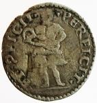 reverse: Zecche Italiane. Ferrara. Ercole II d Este. 1534-1559. Grossetto. Ag. Peso 1,40 gr. MB+.