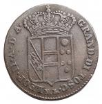 reverse: Zecche Italiane - Firenze. Leopoldo II. 1824-1859. 5 quattrini 1830. Cu. Gig 72. BB+.