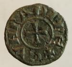 obverse: Zecche Italiane. Genova. Quartaro a nome di Corrado. Peso 0,20 gr. Diametro 13,00 mm. BB.s.v.