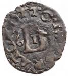 obverse: Zecche Italiane - Lucca. Repubblica. Quattrino 1561. MI. Peso gr. 0,69.  BB+.
