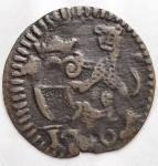 obverse: Zecche Italiane - Lucca. XVIII Sec. Quattrino Panterino. Peso gr. 0,36. Diametro mm. 15,2. BB.