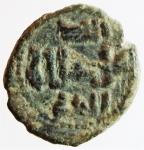 reverse: Zecche Italiane. Messina. Guglielmo II. 1166-1189. Follaro testa di Leone. Ae. SP.118. Peso 1,90 gr. Diametro 13,45 mm. BB. w