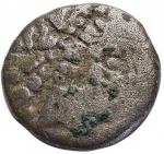 obverse: Celti - Gallia Cisalpina. Leponzi.Dracma a Imitazione Massaliota. D/ Testa di Artemide verso destra. R/ DIKOI Leone stilizzato verso destra. Peso gr 1,65. Diametro mm 14,5. MB+.