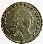 obverse: Zecche Italiane. Ferdinando II Borbone.3 Lire 1792. Ag. CNI 120. qSPL.