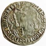 reverse: Zecche Italiane. Pavia. Galeazzo II Visconti. 1359-1378. Grosso da un soldo e mezzo. Ag. Cast.1. BB. R.