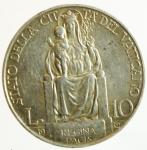 reverse: Zecche Italiane. Roma. Pio XI. 1922-1939. 10 lire 1932. Ag. BB+. ex Tintinna 71, lotto 498, aggiudicata ma non pagata.