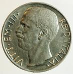 obverse: Casa Savoia. Vittorio Emanuele III. 1900-1943. 0 lire 1927 due rosette. AG.Pag. 692a. SPL.Segnetti altrimenti.