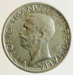 obverse: Casa Savoia. Vittorio Emanuele III. 1900-1943. 5 lire 1927. Ag. qFDC.