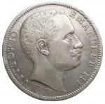 reverse: Casa Savoia - Regno di Italia. Vittorio Emanuele III. 1900-1943. 2 lire 1905. AG. Pag. 729. BB+. Colpettini.