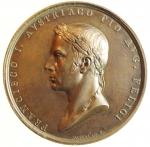 obverse: Medaglie. Francesco I d  Asburgo.Milano. Ritorno dell  imperatore a Milano. Diametro 42,00 mm.FDC.
