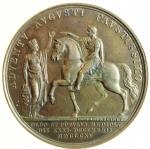 reverse: Medaglie. Francesco I d  Asburgo.Milano. Ritorno dell  imperatore a Milano. Diametro 42,00 mm.FDC.