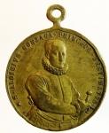 reverse: Medaglie. San Luigi Gonzaga. Visita al sepolcro. Ae. Peso 13,60 gr. Diametro 30,00 mm. BB.s.v.