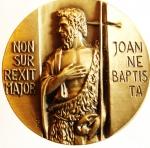 reverse: Medaglie. Milano 1999. IX Centenario della Translazione delle Ceneri di San Giovanni Battista. Peso 91,00 gr. Colombo. FDC.s.v.