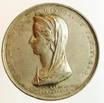 obverse: Medaglie. Maria Ludovica d Este.1816. Medaglie per la sua morte. Diametro 43,00 mm. Ag.SPL.
